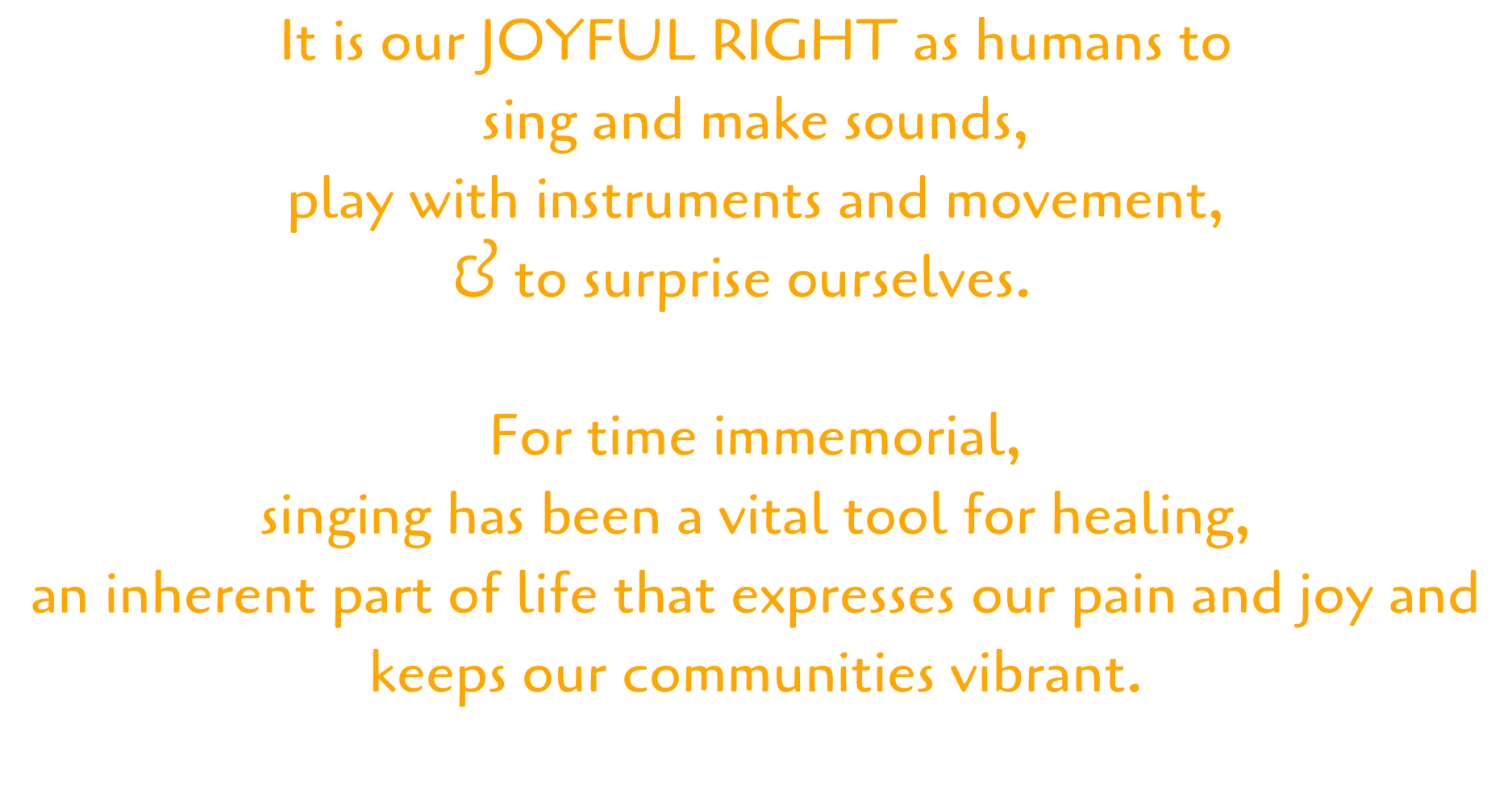 joyful right